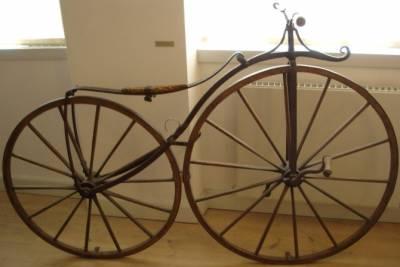 велосипед старинный