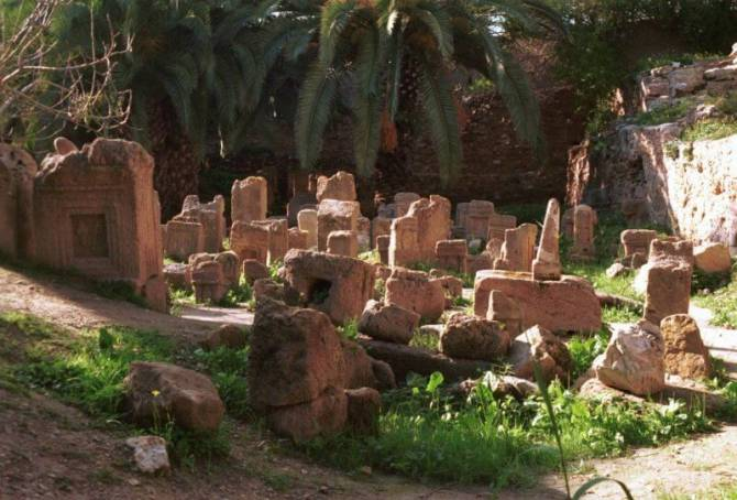 Святилище Тофет, Тунис