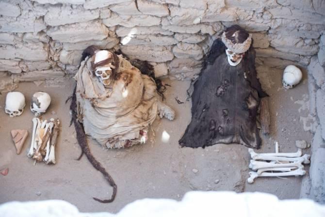 Кладбище Чаучилла, Перу
